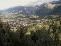 Soller from the Cami de Rocafort