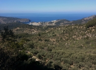 Port de Soller from the Miridor