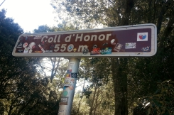 Coll climbed with 'Honor'