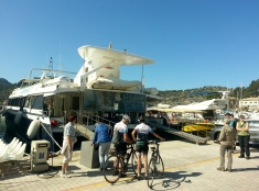 The Boat to Sa Calobra