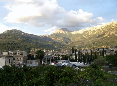 Soller from the train, our last view