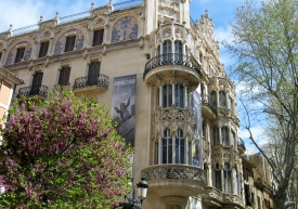 Palma balconies & buildings